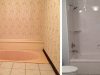 Bathroom Remodel Shower Replacement - Before and After